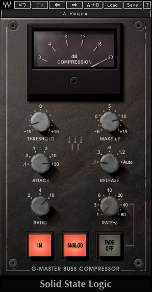 WAVES SSL G Master Bus Compressor